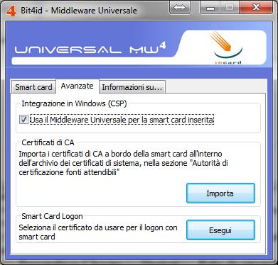 Bit4id Middleware avanzate