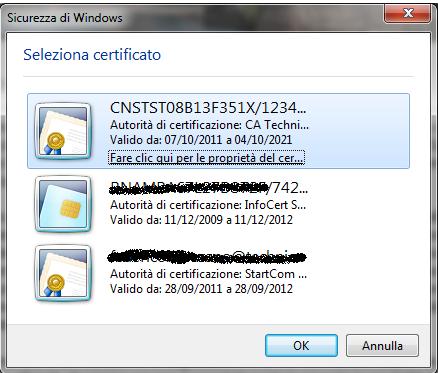 Portale GisMasterWeb Certificato