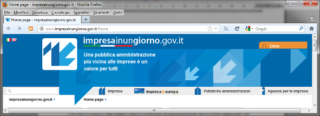 Impresainungiorno.gov.it Verifica